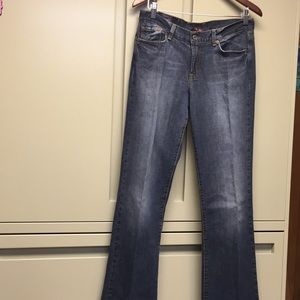 Ladies Lucky-Brand Boot Cut Jeans, 8